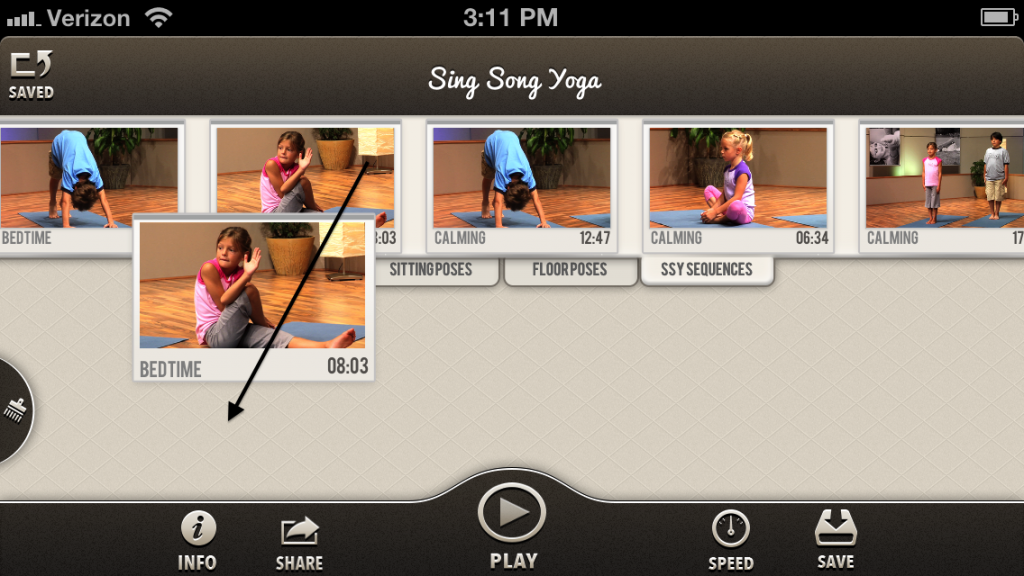 kids yoga app Sing Song Yoga App