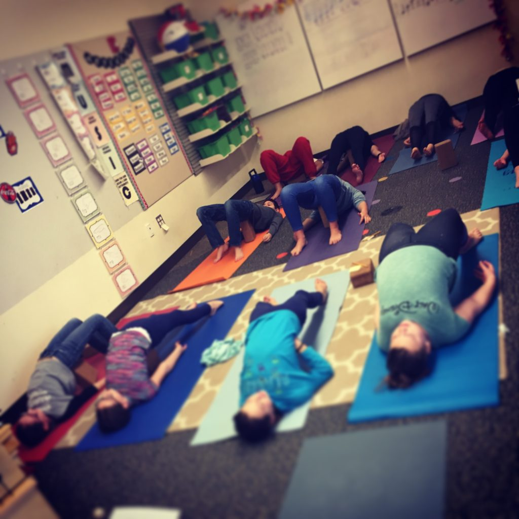 middle school yoga mindfulness tool