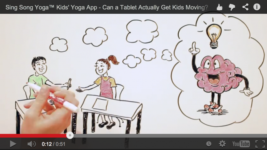 Sing Song Yoga Kids Yoga App video animation