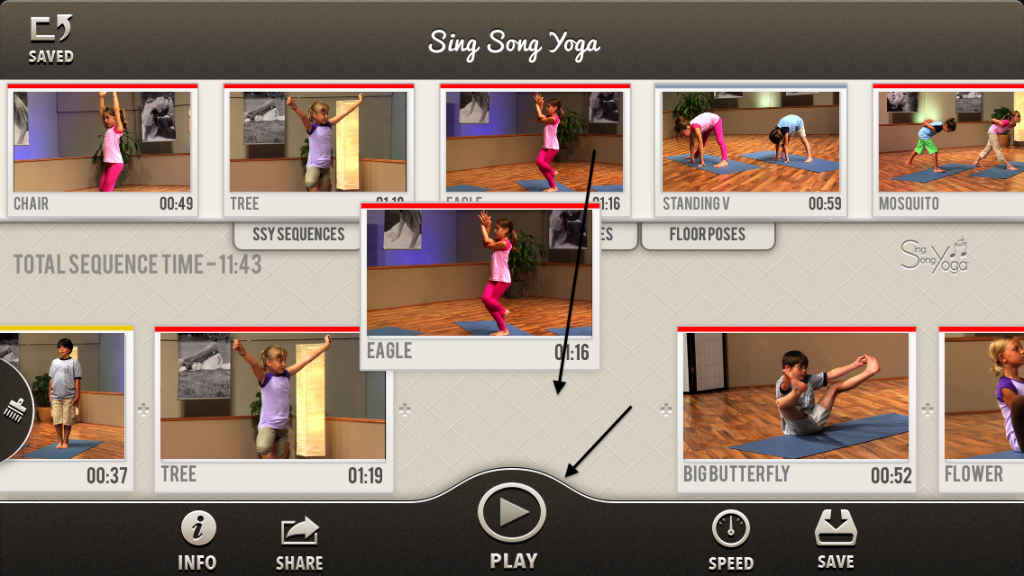 Balancing Sequence Sing Song Yoga App