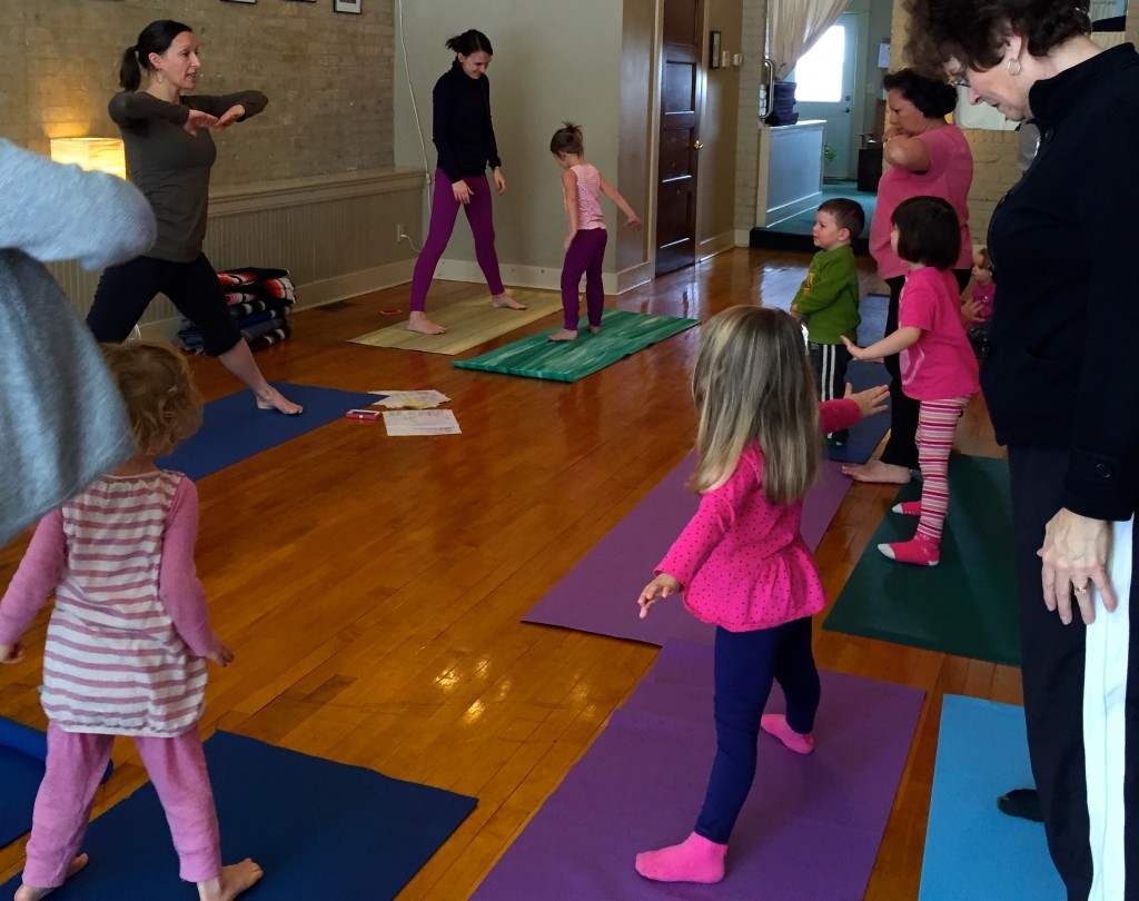 sing song yoga parent child class